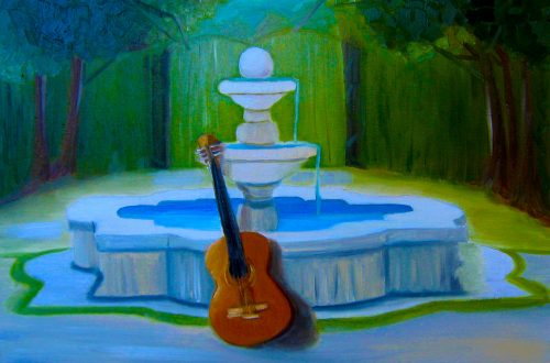 A Story of a Guitar, a Cancer Waiting Room, and a Cuban Courtyard