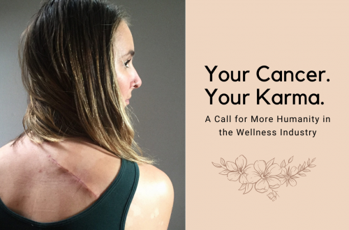 Your Cancer. Your Karma.